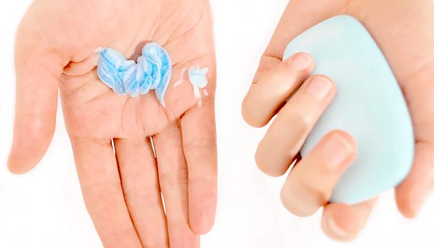 using soap instead of gel