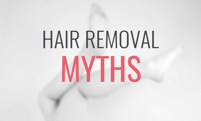hair removal myths