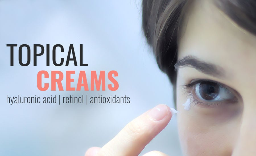 topical creams for under eyes