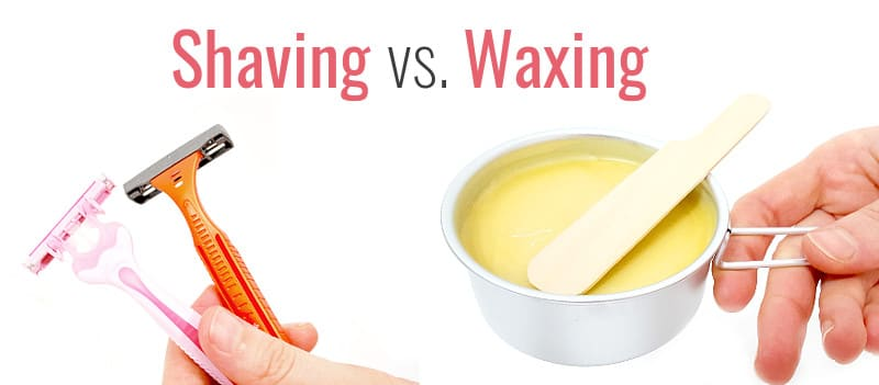 waxing and shaving compared